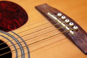 Changer cordes de guitare - Etape 1