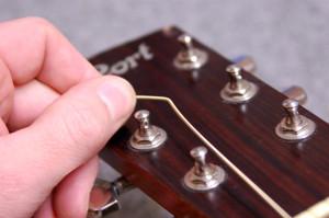 Changer cordes de guitare - Etape 11