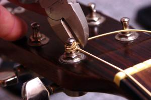 Changer cordes de guitare - Etape 18