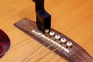Changer cordes de guitare - Etape 2