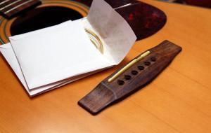 Changer ses cordes de guitare
