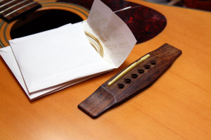 Changer cordes de guitare - Etape 5