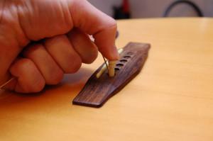 Changer cordes de guitare - Etape 8