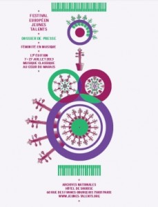 Festival européen des jeunes talents